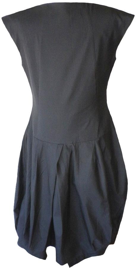 Heide Ost: Black bubble dress